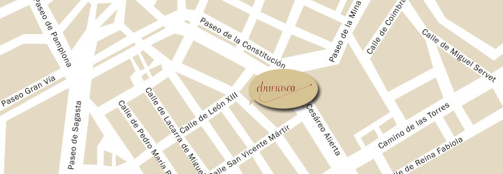 El Churrasco en Google Maps